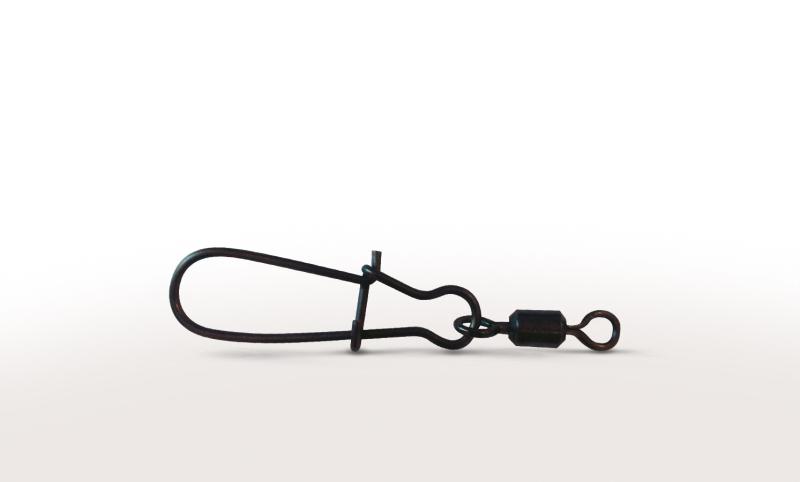 VMC  3526 Black Rolling Swivel with Duolock