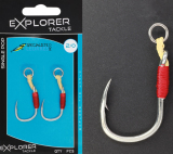 assist hooks single pop explorer tackle