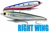 right wing sinking FISH INC