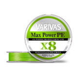 varivas max power pe x8 lime green